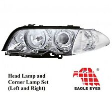 NIB 98-01 BMW E46 3-SERIES 2DR COUPE EAGLE EYES HEADLIGHTS AND CORNER LAMPS SET
