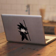 "Dragon Ball Young Goku for Macbook Air Pro 11 13 15 17"" Vinyl Decal Sticker"