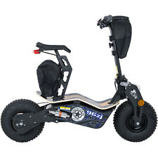 Mototec Mad Electric Scooter MT-Mad-1600_Blue 1600w 48v Blue Black Knobby Tire