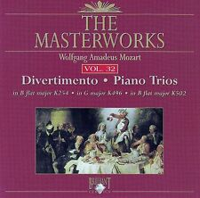 The Masterworks Vol. 32-Weolfgang Amadues Mozart Piano Trios K254 K496 K502 CD