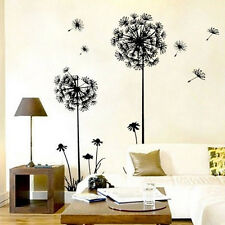 new Removable Mural PVC Home Decor DIY Creative Dandelion Wall Art Decal Sticker