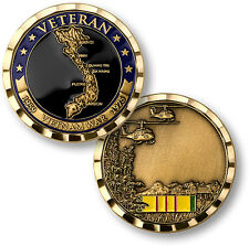 NEW Vietnam War Veteran Challenge Coin. 61039.