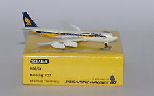 Schabak Boeing 707-338 Singapore Airlines 3rd version   in 1:600 scale
