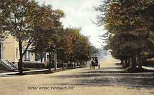 forest street yartmouth nova scotia canada L4520 antique postcard