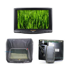 "Lilliput 7"" 619A 1080P Camera HDMI Field Monitor SunShade+F970 Adaptor+Hot Shoe"