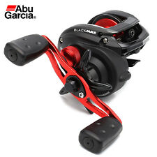 Abu Garcia Boat Sea Fishing Ambassadeur Black Max Left Hand Baitcasting Reel.