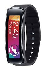 Samsung Gear Fit Fitness Tracker and Smartwatch for Samsung Devices - Black