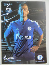 Handsignierte AK Autogrammkarte *MAX MEYER* FC Schalke 04 14/15 2014/2015