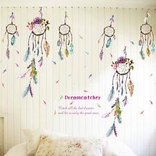 Atrapasueños Pluma Niños Adhesivo De Pared Mural Lucky Dormitorio Casa