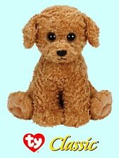 "Ty® 12"" Luke Classic® Large Tan Dog #20057 2014 VERSION CUTE & CUDDLY"