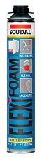 Flexifoam Soudal Bauschaum Fensterschaum PU Schaum Pistolenschaum flexibel