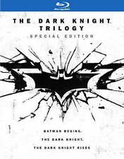 THE DARK KNIGHT TRILOGY -  BLU RAY - Sealed Region free for UK