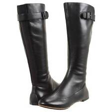 "$250 Tsubo ""Meroe"" Knee High Women's Flat Leather Boots 5.5US/36.5EU/4UK"