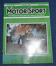 Motor Sport December 1983 AC ME3000, Gordon Murray, 1926 Arab, Keke Rosberg