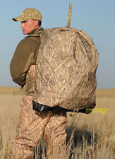 AVERY GREENHEAD GEAR GHG FLOATING DUCK GOOSE DECOY BAG KW-1 CAMO L 24 CAPACITY!