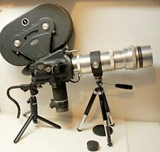 CAMERA ARRIFLEX 35 II A -35 mm -1955 - Moteur  + magasin + obj:400 mm mount ARRI