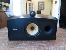 B&W HTM 2 Nautilus 800 series Center Speaker British Audiophile