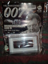 JAMES BOND CAR COLLECTION #122 MERCEDES BENZ 200D@mag in delivery packing