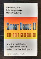Smart Drugs II Ward Dean 1993 1st Edition PB Noortropics Memory Intelligence