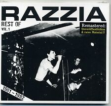 Razzia -Rest Of Vol. 1 CD Slime Buttocks Targets Torpedo Moskau Screamer HH Punk