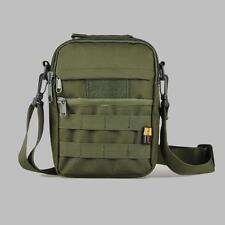 Olive Drab Green Shoulder Bag Military Molle Utility Messenger Bag Pouch 23X16CM