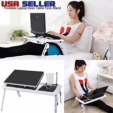 Multifunctional MacBook Laptop Table Stand&Cooling Fan USB Ports Foldable Desk