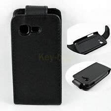 Flip Leather Holster Pouch Hard Cover Case For Samsung Galaxy Pocket Neo S5310