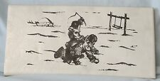 Subway Accent Tile Back Splash or Bathroom Alaskan Scenes Children Playing