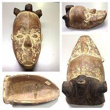 Antike Maske der Fang Kamerun Afrika Holzfigur Holzmaske mask Africa Cameroon