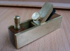 75mm CABINET MODEL ROSEWOOD & BRASS MINI BLOCK PLANE - SMALL SCALE WORK HOBBY