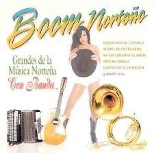 CD • Boom Norteno • Grandes De La Musica Nortena Con Banda •