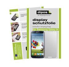 Samsung Galaxy S4 Schutzfolie matt Displayschutzfolie Folie Antireflex dipos