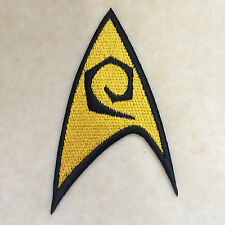 STAR TREK ENGINEER AMERICAN SCIENCE FICTION EMBROIDERY IRON ON PATCH BADGE
