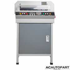 "New 18"" Guillotine Cutting Machine Office Electric Stack Paper Cutter Heavy Duty"