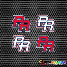 4x World Baseball Classic WBC Puerto Rico PR Logo Vinyl Stickers decals