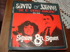 "SANTO & JOHNNY "" SE E' VERO AMORE - YOU ONLY LIVE TWICE "" O.S.T.  ITALY'67"