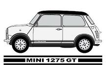 Classic Mini 1275GT Stripes Any Colour