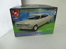 1966 FORD FAIRLANE 427 ~ AMT/ERTL MODEL KIT ~1/25~ OPEN COMPLETE