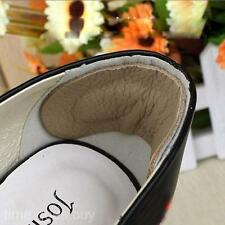2pairs Feet Care Soft Shoe Insole Back Leather Heel Cushion Mat Protector Pads