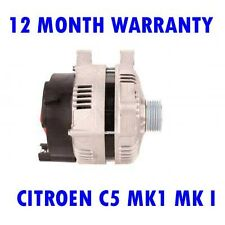 CITROEN C5 MK1 MK I 3.0 2001 2002 2003 2004 REMANUFACTURED ALTERNATOR
