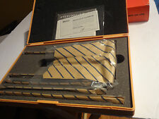 Mitutoyo 129-116 Vernier Depth Gauge, Interchangeable Rods, Micrometer Type,