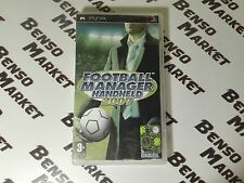 FOOTBALL MANAGER HANDHELD 2007 - SONY PSP - PAL ITA ITALIANO COMPLETO COME NUOVO