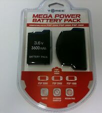 NEW PSP 3000 3.6 V Volt 3600 mAh Lithium Rechargeable Battery Pack Extended life