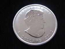 """MDS KANADA / CANADA 5 DOLLARS 2012 """"MAPLE LEAF"""", SILBER     DH1"""