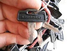 Vintage Kawasaki OEM Factory Pre Cut Motorcycle Key # 195