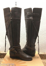 UGG COLLECTION NICOLETTA TALL ASH BROWN OVER THE KNEE BOOT US 7 / EU 38 / UK 5.5