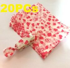 FD3834 Candy Pink Calf Wrapping Waxed Waterproof Paper Baking Decor 20PCs