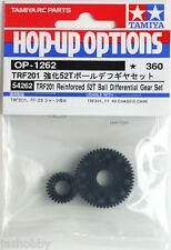 Tamiya 54262 RC TRF201 Reinforced 52T Ball Differential Gear Set FF03/TRF211XM