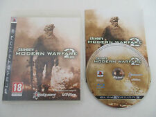 CALL OF DUTY MODERN WARFARE 2 - SONY PLAYSTATION 3 - JEU PS3 COMPLET