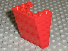 Red Windscreen 4872 LEGO / Set 7637 farm & 3677 Red Cargo Train